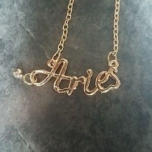 Jewelry - Aries Zodiac Sign Necklace